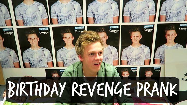 BIRTHDAY REVENGE PRANK ON ROOMMATE - YouTube