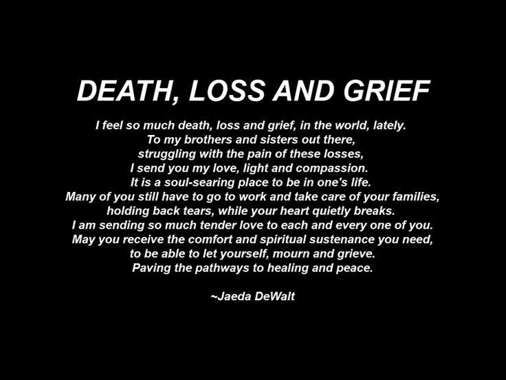 i Feel so Much Death