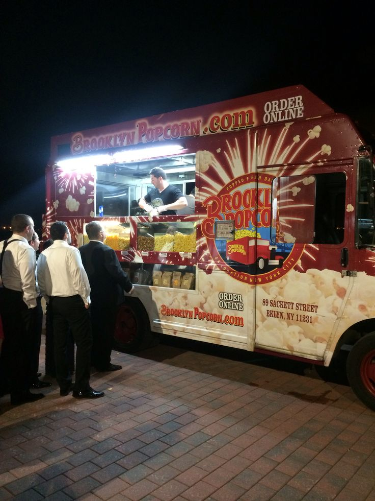 Thel Liberty Warehouse. Brooklyn Popcorn Truck on the Promenade. 5.31.14