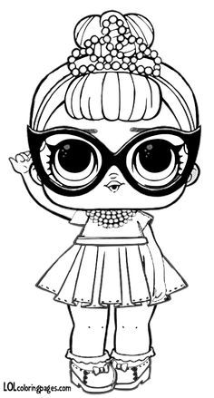 Cute Coloring Pages Lol Dolls Cool Coloring Pages