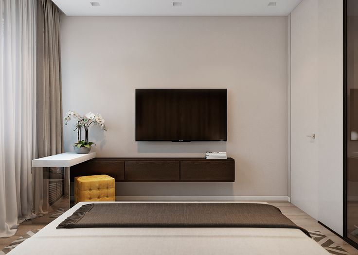 Project apartment for a young family with two children