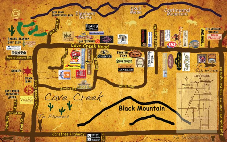 Cave Creek Arizona Visitors Guide. #PlatinumRealtyNetwork #CaveCreekAZ