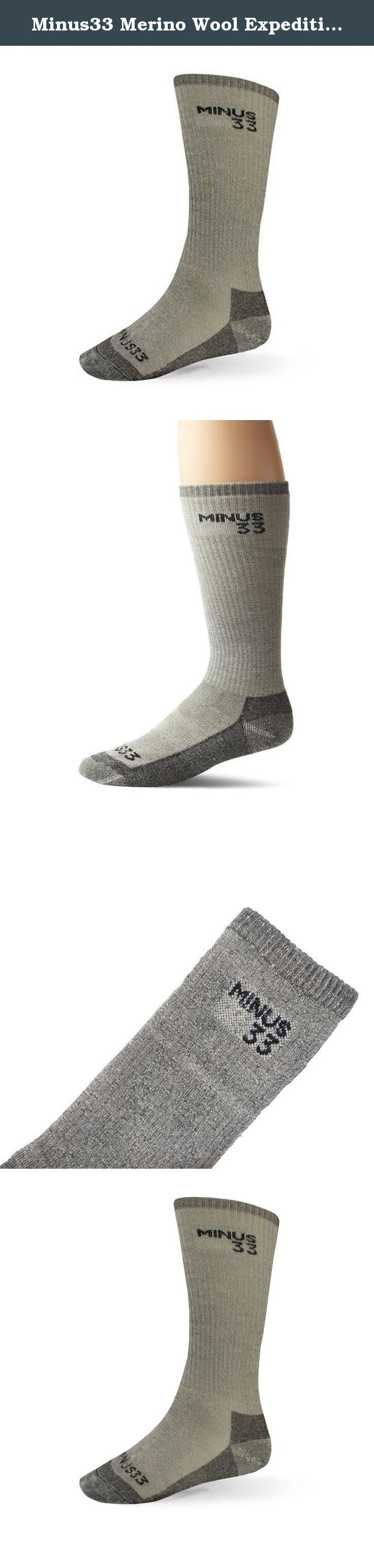 Minus33 Merino Wool Expedition Mountaineer Sock, Grey Heather, Large. Accessories are the finishing details that complete an outfit. Our accessories compliment the warmth and comfort you've come to expect from Minus33 Merino Wool. We have Balaclavas, Hats