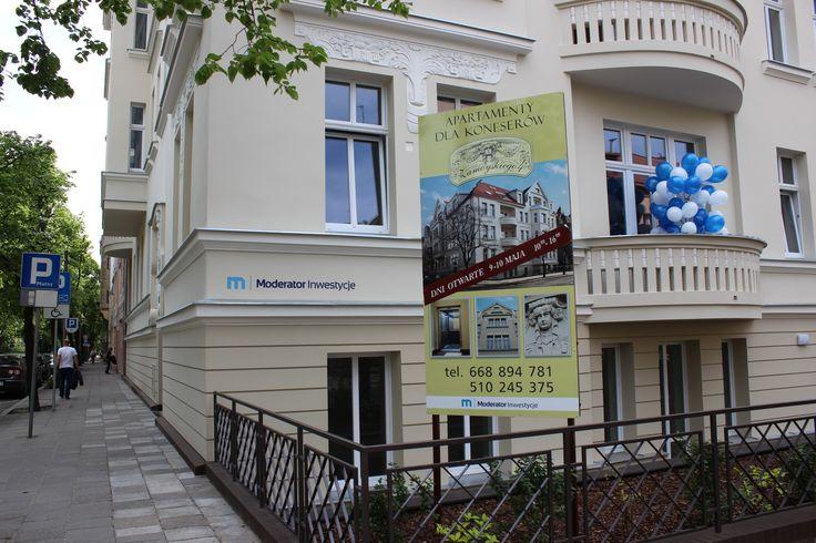 #Kamienica na ul. Zamoyskiego 4 to piękny, odrestaurowany budynek z 1906 roku. Obiekt poddano kompleksowej renowacji.  Więcej informacji:  http://moderator-inwestycje.pl/zamoyskiego-4/  #bydgoszcz #miasto #bydzia