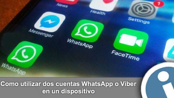 Manual para instalar varias cuentas #WhatsApp, #Viber, #Telegram en un #iPhone sin jailbreak.
