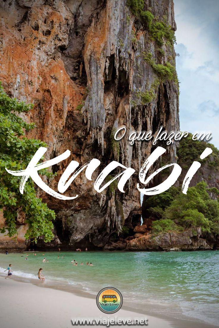 Krabi é uma das principais províncias que ficam no mar de Andaman. Ela é um dos lugares de onde partem os barcos para a famosa Koh Phi Phi. As praias mais famosas de Krabi, onde a maioria das pessoas se hospedam são Ao Nang e Railay Beach.