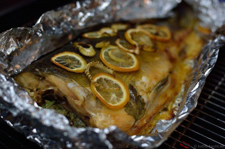 Im Ofen gebackener Karpfen - Katha-kocht!