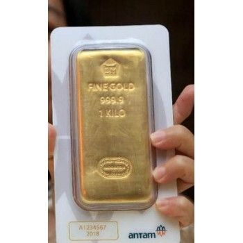 Cheap 1000 Gram Or 1 Kilo Antam Gold Bar In 2020 Gold Bar Gold Rate Chart Gold Investments