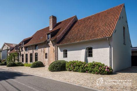 Aangelegde tuinen door tuinonderneming Monbaliu - Flemische Farmhouses