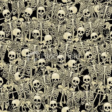 halloween art wallpaper skeleton