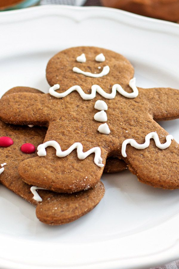 how to make gingerbread man cookies from scratch
