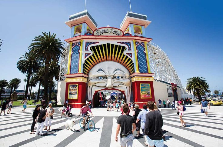 Luna Park Melbourne is a Family Friendly Amusement Park by St Kilda Beach. Experience one of the top 'Things to do in Melbourne' ...Just for Fun!