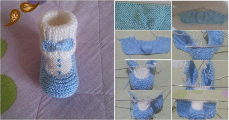 Bebekler için damat patik yapılışı. En son moda olan bebek patiklerinden damat patik modelinin adım adım yapım aşamalarını paylaştık.