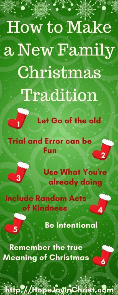 How to Make a New Family Christmas Tradition LongPinIt (#Advent #ChristianChristmas #ChristmasTraditions #RandomActsOfKindness) (scheduled via http://www.tailwindapp.com?utm_source=pinterest&utm_medium=twpin)