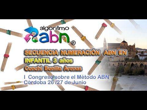 Secuencia numeración ABN en Infantil 3 años - Actiludis