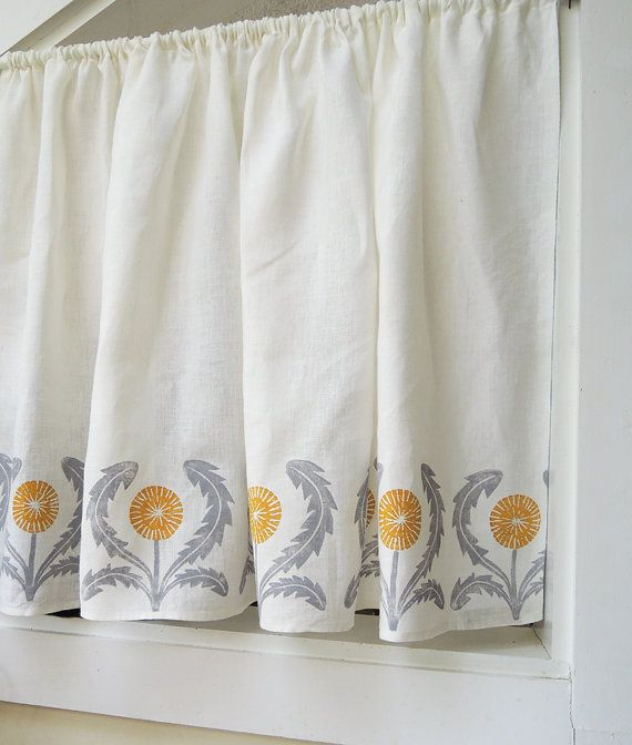 Kitchen Curtains Yellow And Gray: 25+ Best Ideas About Cafe Curtains On Pinterest