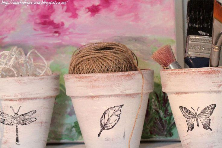 Turn boring pots into designer beauties!