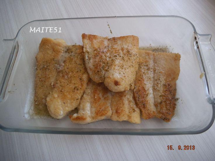 """Filets de Poisson """"Meunière"""" !"""