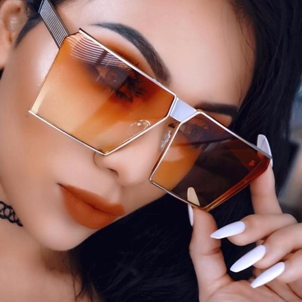 BlackFriday is coming early  BestPrice  CyberMonday 2018 Top Quality  Vintage Shield Sunglasses Women Brand Designer Female Sunglass Sun… 9d2ec30683