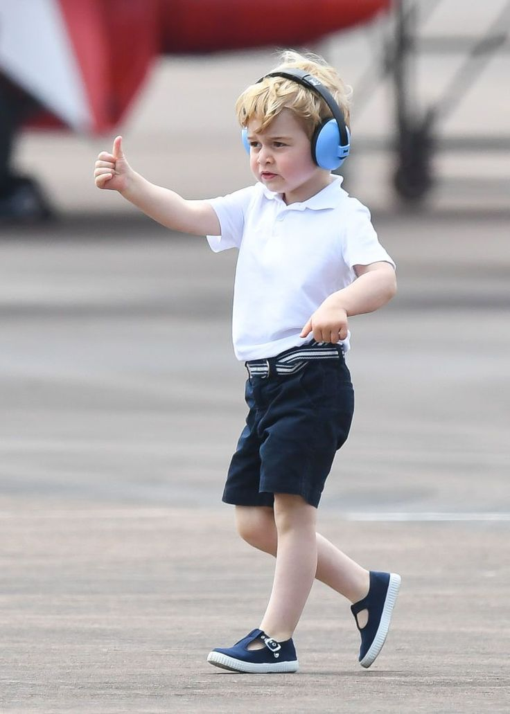 Prince George's excellent 'hand eye co-ordination'