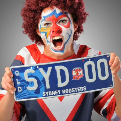 Can Sydney Roosters race to the #NRL finals in 2012? Show your support with a personalised plate. #QLD