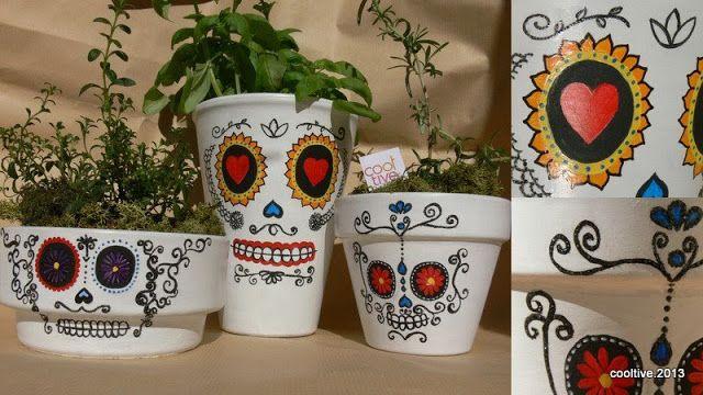 Cooltive - Vasos cerâmicos pintados à mão. Peças únicas, com design exclusivo.