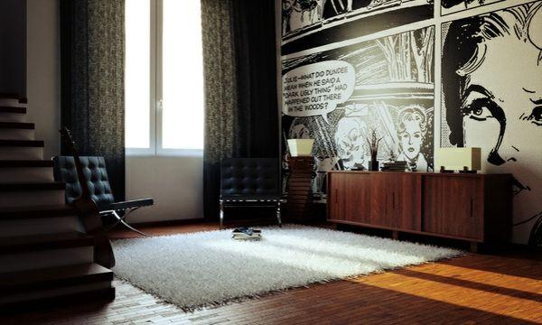 Ausgefallene Tapeten F?r Zuhause : Ausgefallene Tapeten auf Pinterest Tapeten Wohnzimmer, Tapeten Ideen