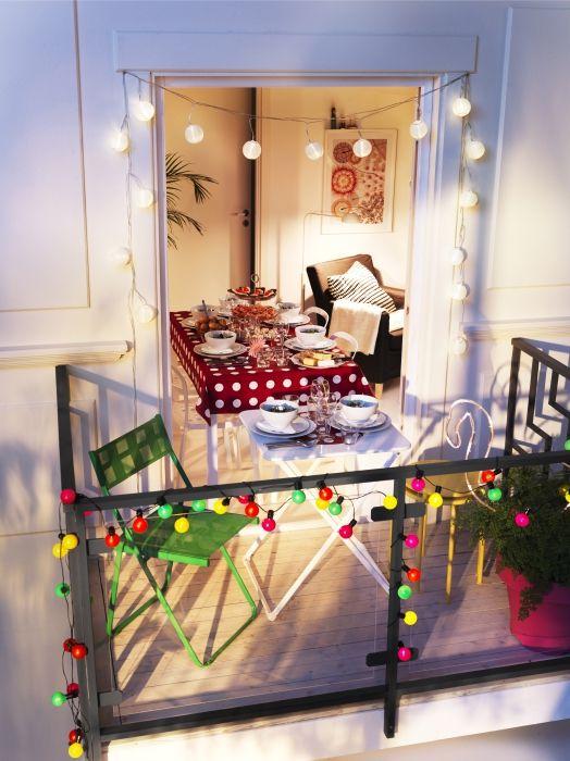 Ikea39nin solar dis mekan aydinlatmalariyla tanisin gun for Katzennetz balkon mit solar led garden lights