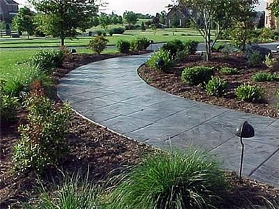 Path, Stamped, Concrete, Walkway Concrete Walkways Deco-Systems of MD Inc Germantown, MD
