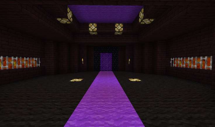 how to make a nether portal in creative