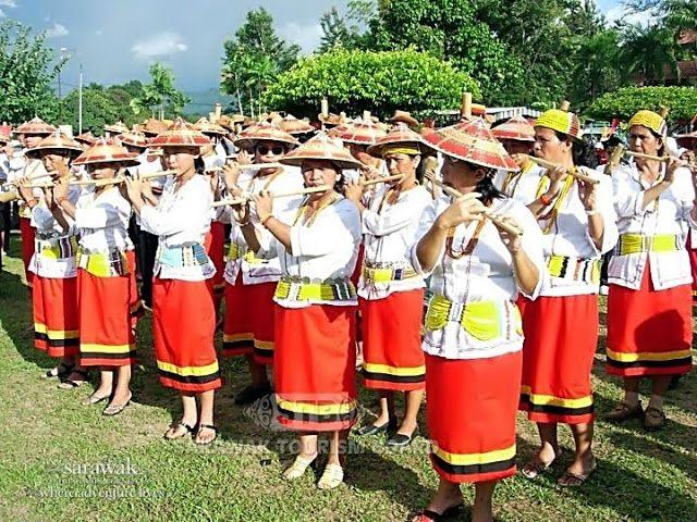 Borneo People | sarawak+borneo+people+lun+bawang+bamboo+band.jpg