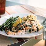 Baked Salmon with Dill Recipe | MyRecipes.com