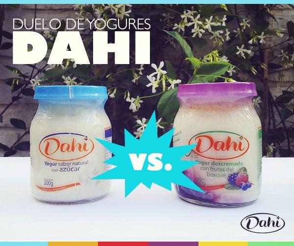¡VIERNES DE DUELO! ¿Cuál de estos yogures batidos es tu favorito? #Dahi #ElVerdaderoYogur