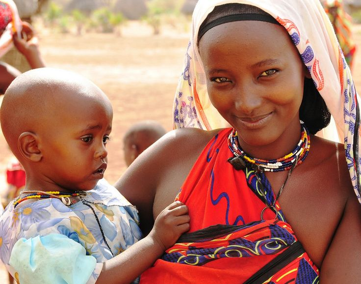 Orma woman with child