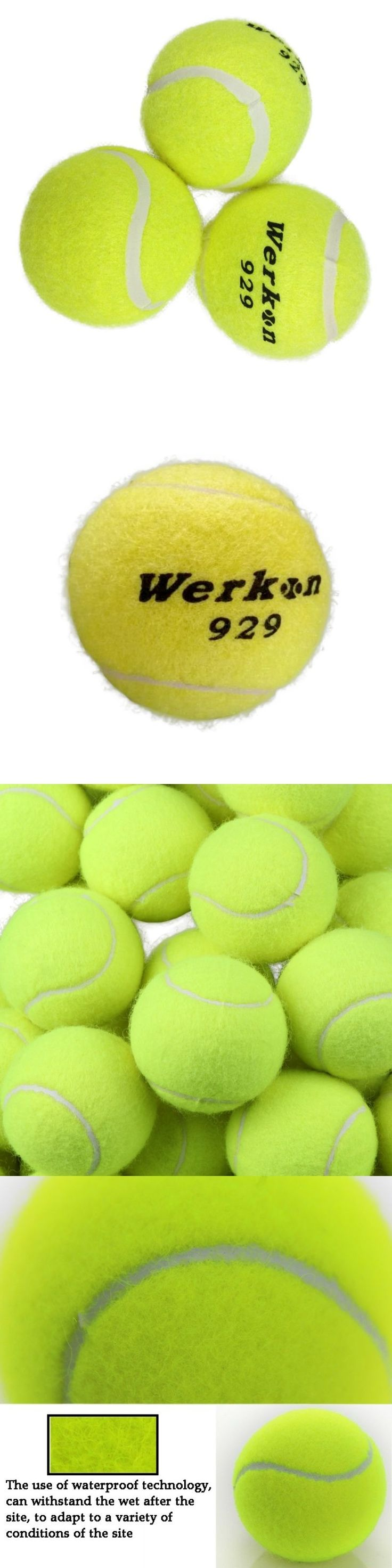 High Quality 3pcs/set Tennis Training Ball for Training Beginner Tennis Trainer #tennisforbeginners