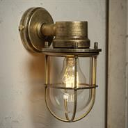 Ship's Outdoor Light made by Jim Lawrence