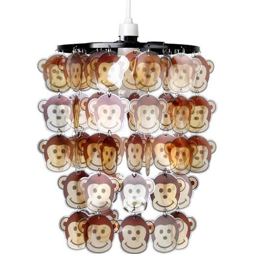 Childrens Bedroom Ceiling Shade with Cheeky Monkeys