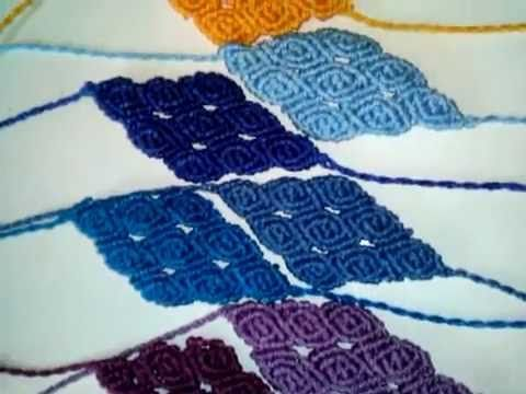 ▶ friendships bracelets macrame - YouTube