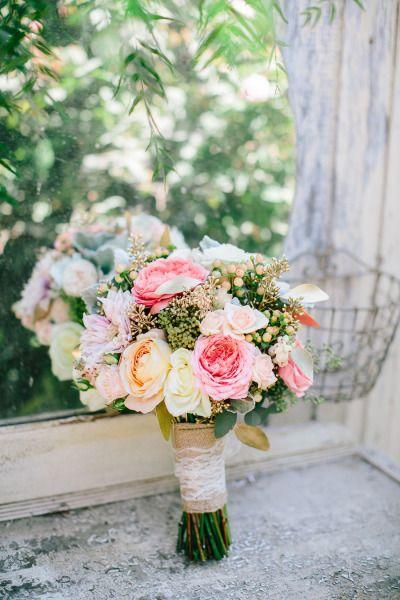Rustic elegance: http://www.stylemepretty.com/california-weddings/arroyo-grande-california/2015/04/06/vintage-boho-arroyo-grande-garden-wedding/ | Photography: Mirelle Carmichael - http://www.mirellecarmichael.com/
