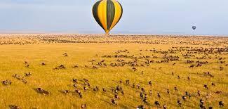 Serengeti National Park, Tanzania. Balloon Safari