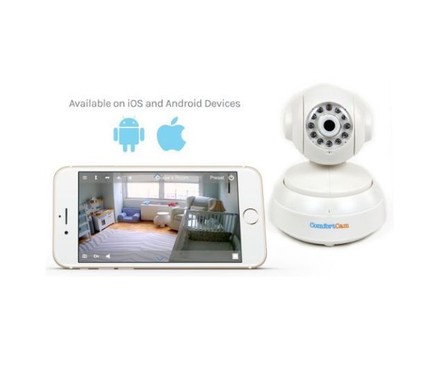 new wifi camera monitor baby remote viewing secure stream no subscription comfortcam baby. Black Bedroom Furniture Sets. Home Design Ideas