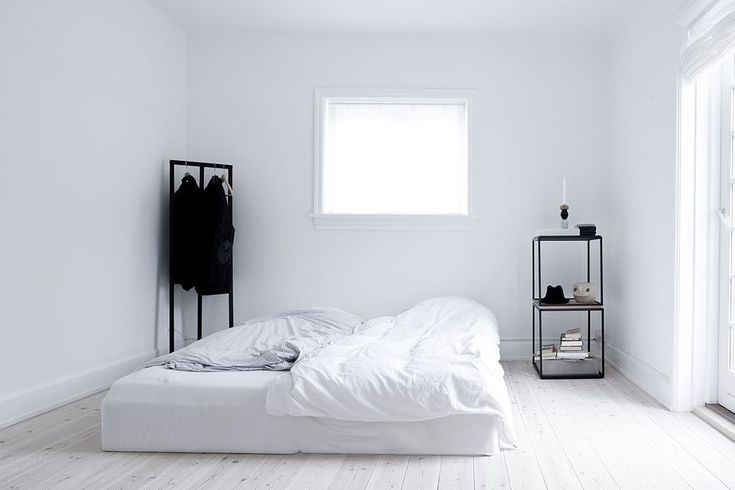 So Simple White Design Architect Bed Room Modern House