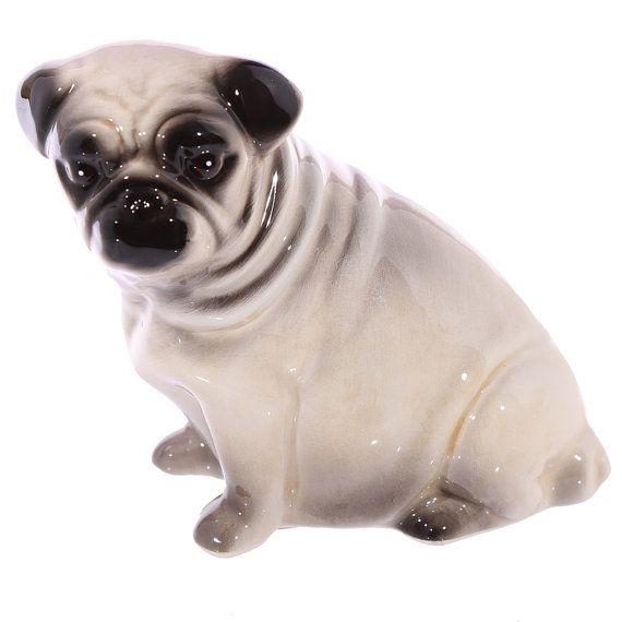 Cute Fun Pug Design Ceramic Money Box Office Gift by getgiftideas