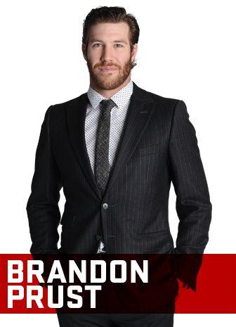 Brandon Prust pose pour l'Annuel 2013-2014 du Magazine CANADIENS. / Brandon Prust poses for the 2013-14 CANADIENS Yearbook. #Habs