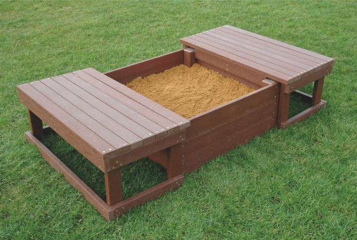 Recycled Plastic Sandpit