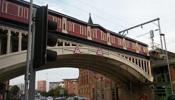 Network Rail Bridge, Deansgate, Manchester