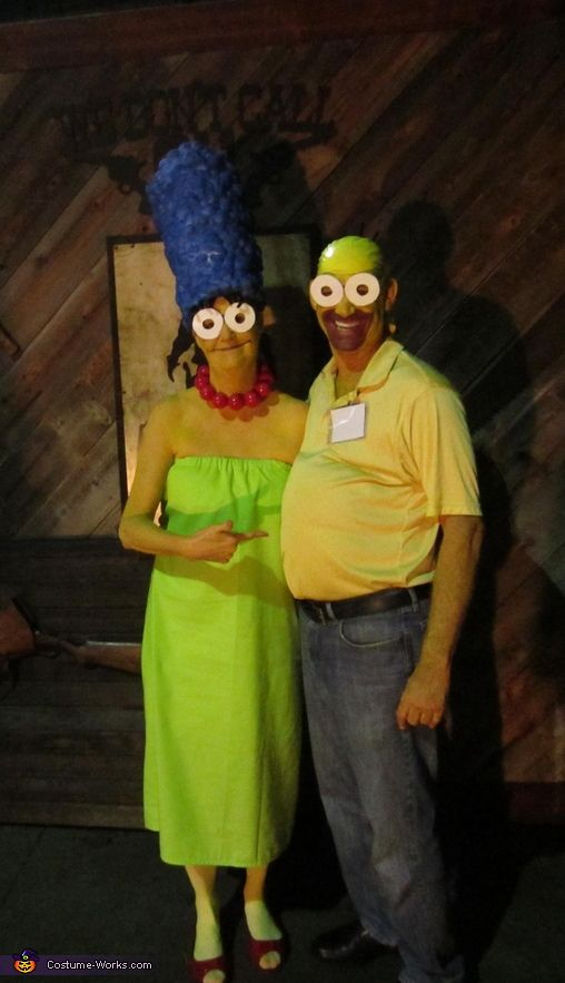 marge homer diy couples halloween costume - Halloween Costumes Idea For Couples