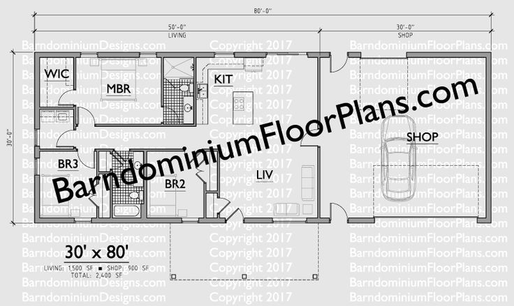 253 Best Barndominium Plans Images On Pinterest