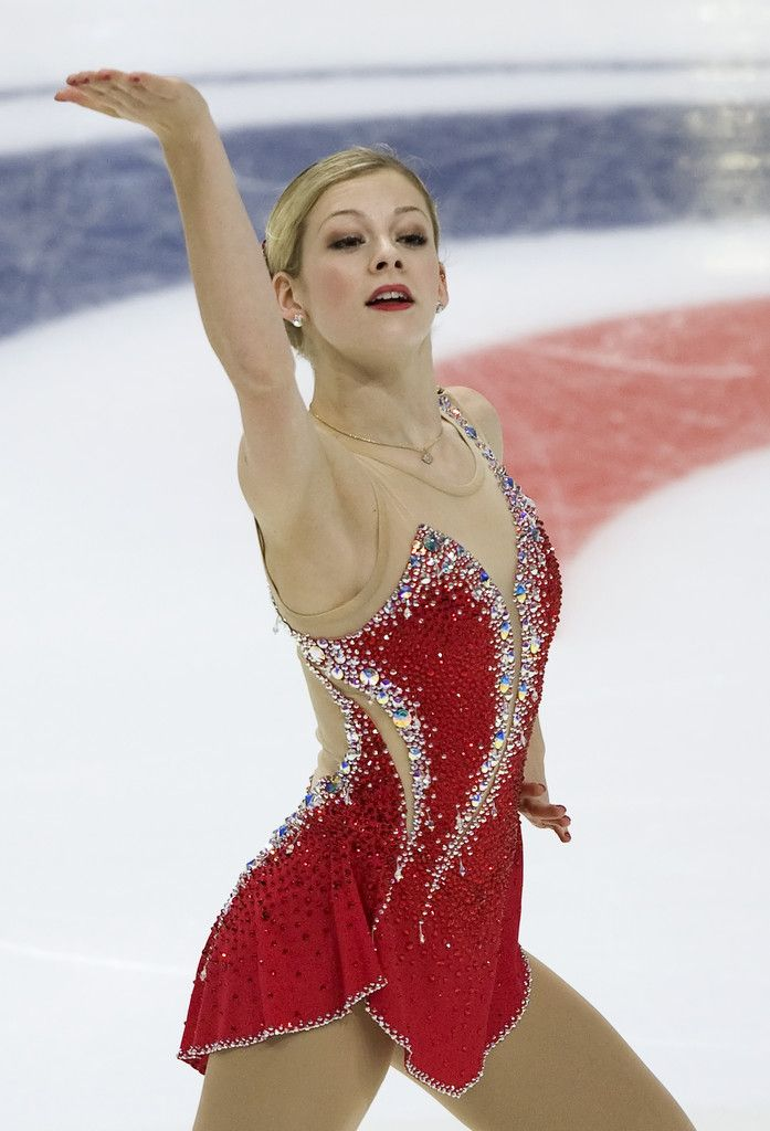 Gracie Gold at 2012 Rostelecom Cup, love this dress! I know it's not RG but it's close.
