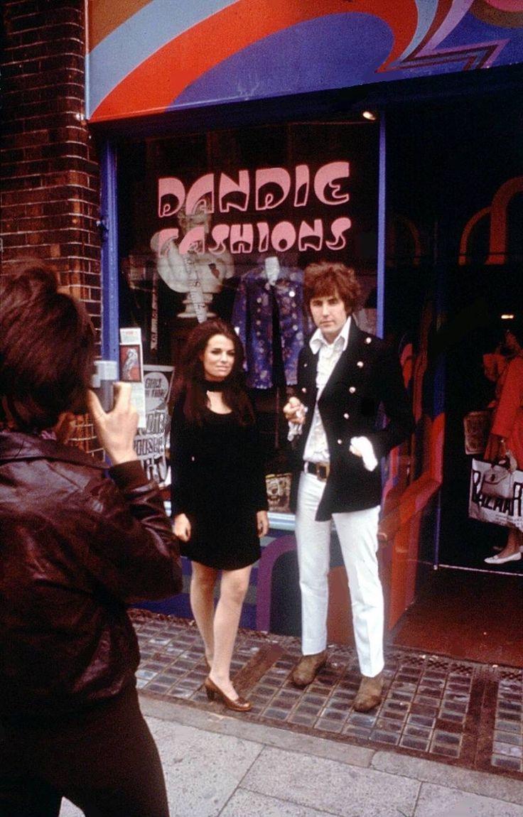 Swinging London.  Boutique Dandie Fashions in King's Road, London, 1967